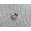 Anneau 04mm, épaisseur 0.6mm argenté - Lot de 100