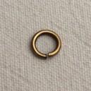 Anneau 07mm Bronze - lot de 10