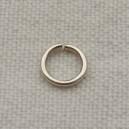 Anneau 06mm, épaisseur 0.5mm, argenté - Lot de 10