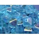 Bicône 6mm Bleu Aigue-Marine claire AB