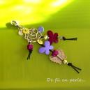 Bijou de sac papillons