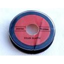 Bobine 20 mètres nylon élastique noir 0.60mm