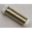 Bobine de cuivre argenté 0.20mm - 20 mètres