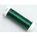 Bobine de cuivre vert foncé 0.20mm - 20 mètres