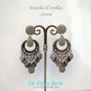 Boucles d'oreilles Floralies