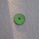 Bouton nacre 10mm vert
