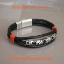 Bracelet 3 rangs cuir