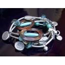 Bracelet 4 rangs