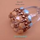 Bracelet Palme cuivre