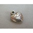 Breloque coeur 13x10 - 20x0.30€