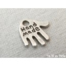 "Breloque main ""Hand made"" - 30x0.20€"