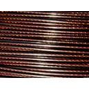 Cable cuivre foncé 042mm Vendu par 1 mètre