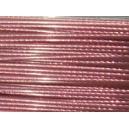 Cable Rose 0.42mm Vendu par 1 mètre