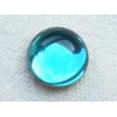 Cabochon 10mm Bleu Aiguemarine