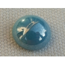 Cabochon 10mm Bleu ciel lustré