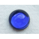 Cabochon 10mm Bleu Saphir Foncé