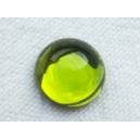 Cabochon 10mm Vert Olivine
