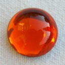 Cabochon 16mm Orange