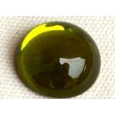 Cabochon 16mm Vert Olivine