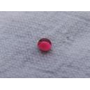 Cabochon 3mm Vieux rose