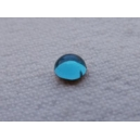Cabochon 4mm Bleu Aigue-Marine