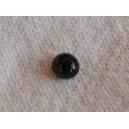 Cabochon 4mm Noir