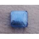 Cabochon 8x8 bleu Saphir volcanique