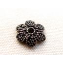 Calotte fleur plate 13mm cuivrée