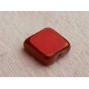 Carré plat 8x8 Rouge corail