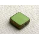 Carré plat 8x8 Vert opaque