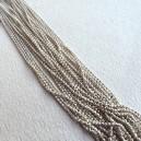 Chaine boule 1.5mm Blanc - 50cm