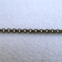 Chaine ronde 2mm Bronze - 50cm