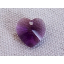 Coeur 10.3x10 Amethyst