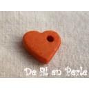 Coeur 10mm Orange