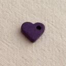 Coeur 10mm Pourpre