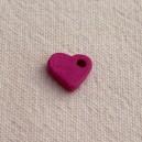 Coeur 10mm Rose Camélia