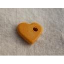 Coeur 10mm Safran - 50 x 0.099€