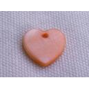 Coeur 12mm Abricot