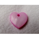 Coeur 12mm Rose