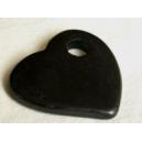 Coeur 35mm Noir 5 x 1€
