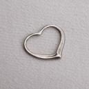 Coeur anneau 28x25