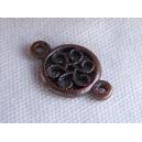 connecteur rosace 12mm cuivre