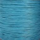 Cordon 1mm Bleu Turquoise 5 mètres