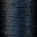 Cordon 1mm Noir 5 mètres