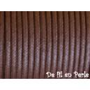 Cordon 2mm Marron - Vendu par 1 mètre