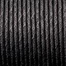 Cordon 2mm Noir 1 mètre