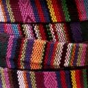 Cordon ethnique 10mm plat Multicolore - 50cm