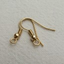 Crochet américain doré Lot de 10 paires
