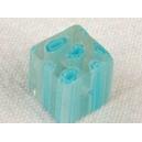 Cube 10x10 Bleu azur