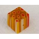 Cube 10x10 Jaune Safran
